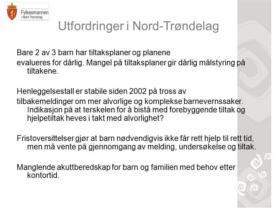 Utfordringer i Nord-Trøndelag