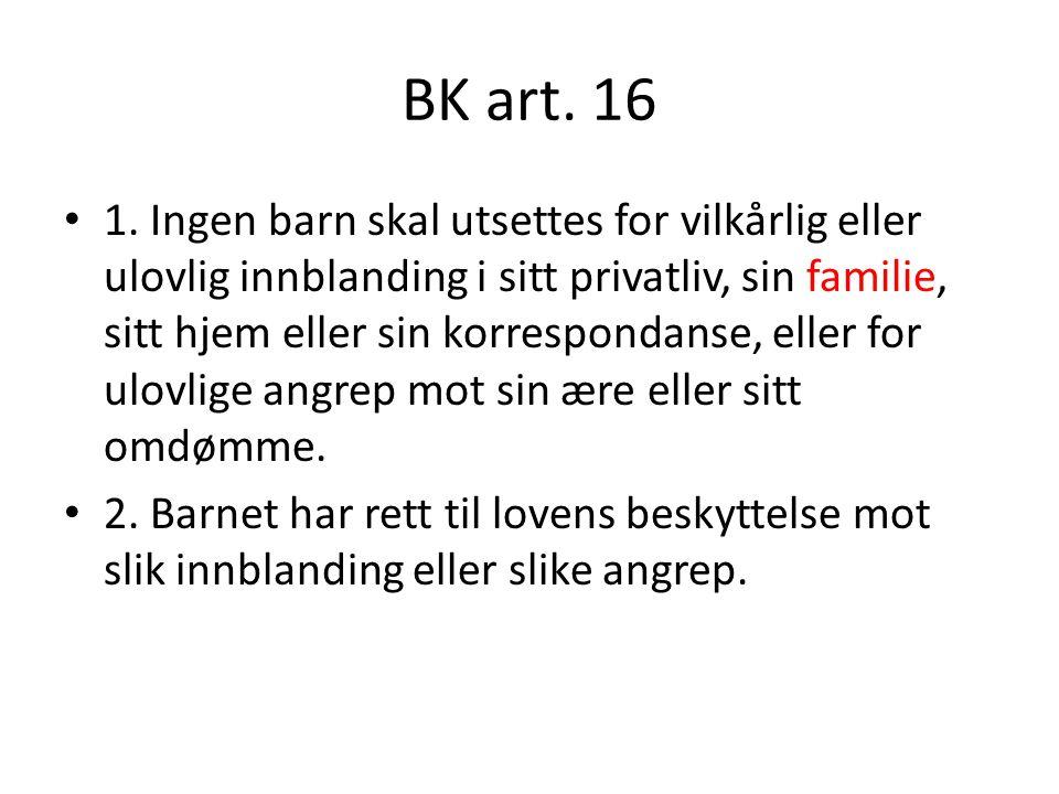 BK art. 16