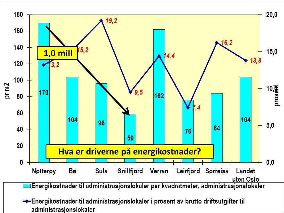 Hva er driverne på energikostnader