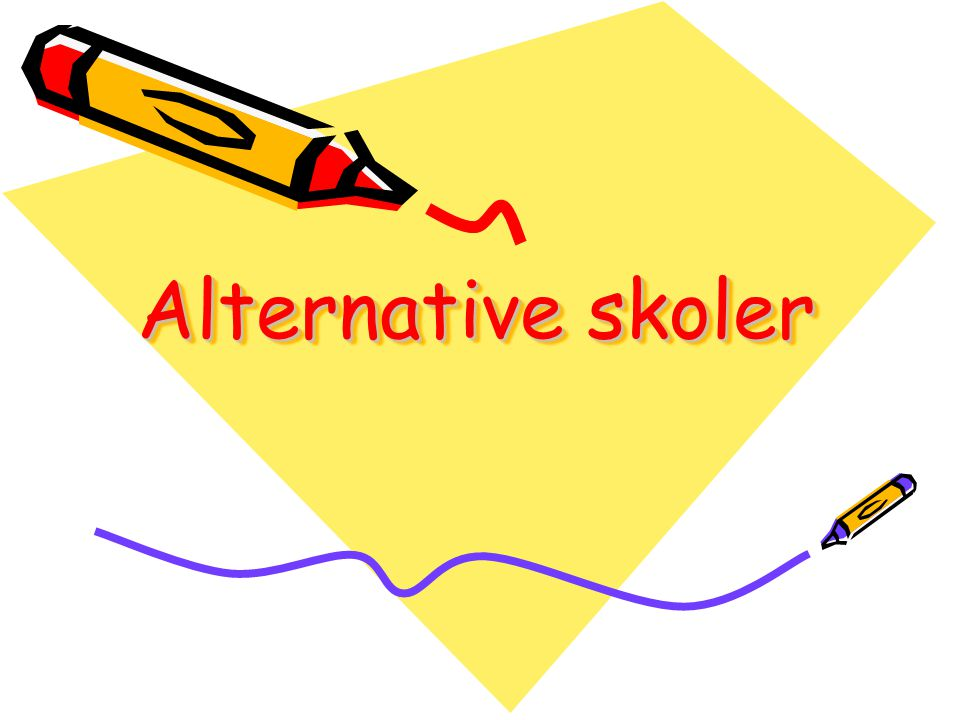 Alternative skoler