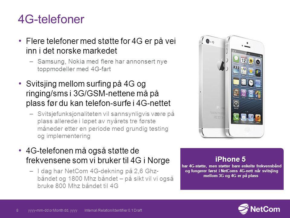 08 April 2017 4G-telefoner. Flere telefoner med støtte for 4G er på vei inn i det norske markedet.