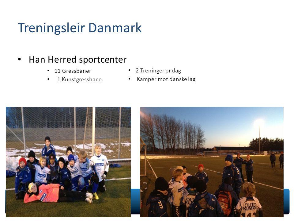 Treningsleir Danmark Han Herred sportcenter 11 Gressbaner