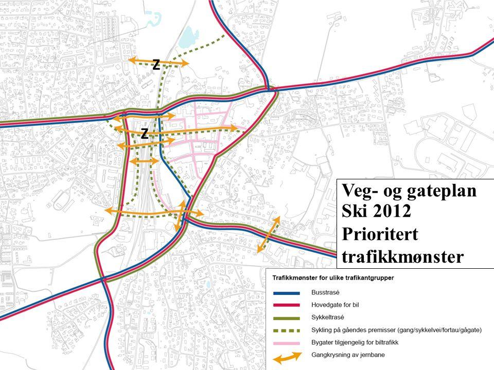 Prioritert trafikkmønster