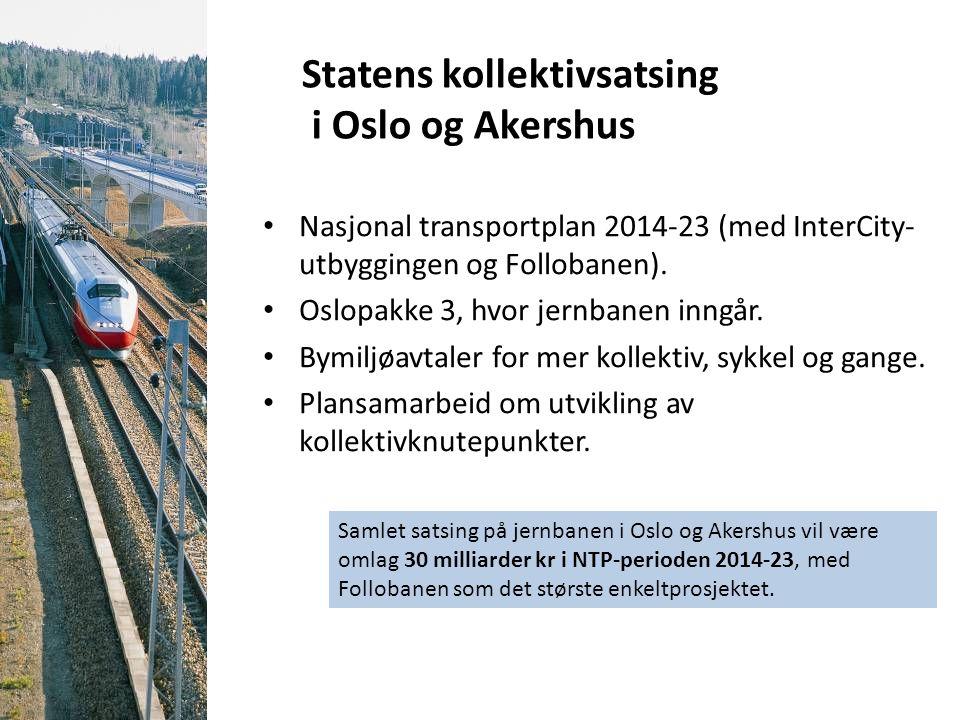Statens kollektivsatsing i Oslo og Akershus