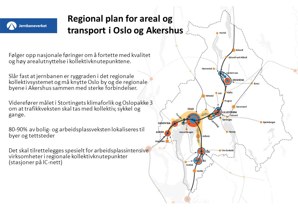 Regional plan for areal og transport i Oslo og Akershus