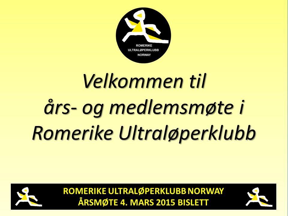 ROMERIKE ULTRALØPERKLUBB NORWAY