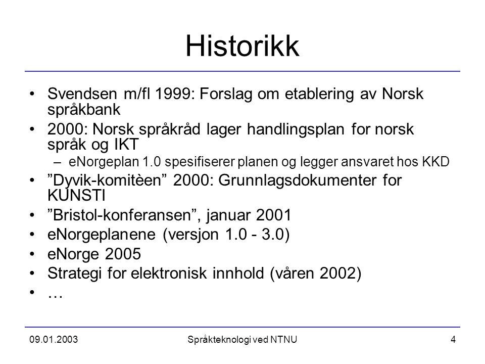 Språkteknologi ved NTNU