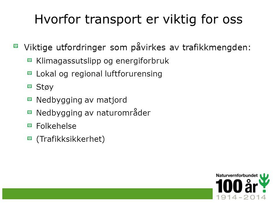 Hvorfor transport er viktig for oss