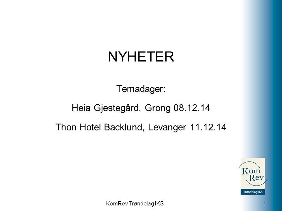 Thon Hotel Backlund, Levanger 11.12.14