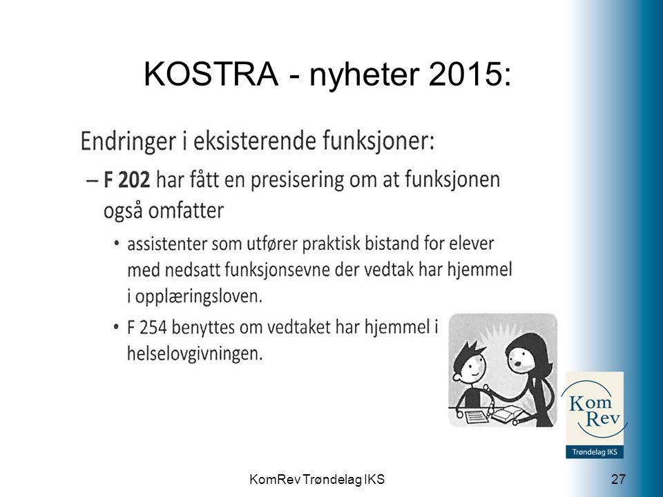 KOSTRA - nyheter 2015: 202 Grunnskole