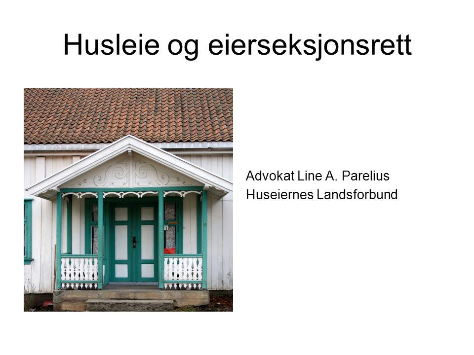 Husleie og eierseksjonsrett