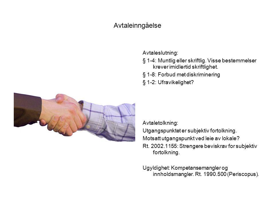 Avtaleinngåelse