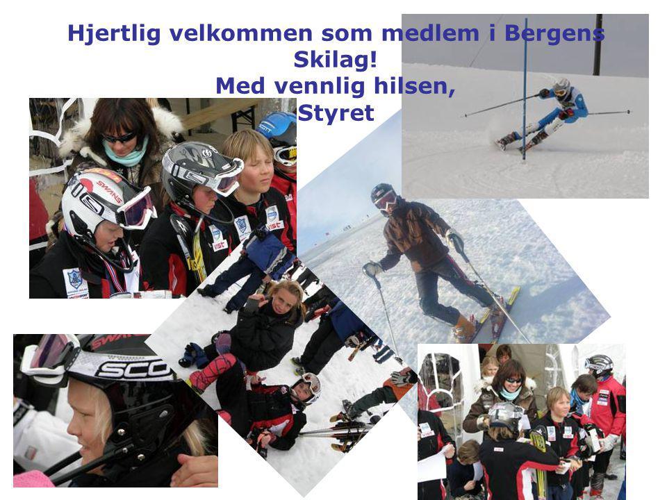 Hjertlig velkommen som medlem i Bergens Skilag!