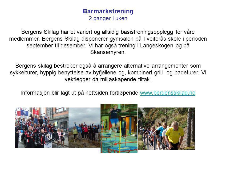 Informasjon blir lagt ut på nettsiden fortløpende www.bergensskilag.no