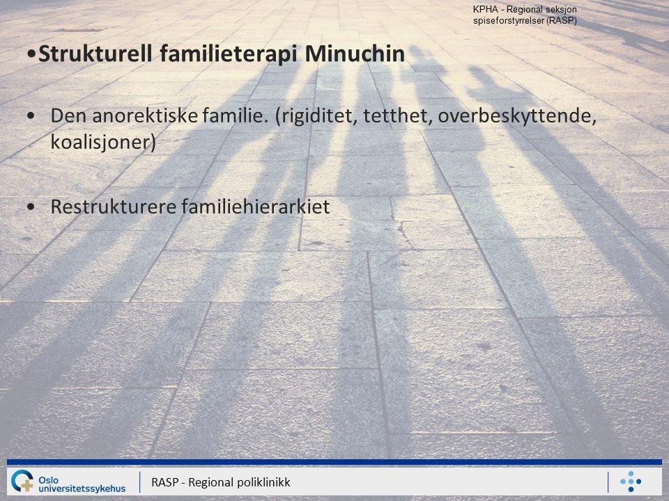 Strukturell familieterapi Minuchin