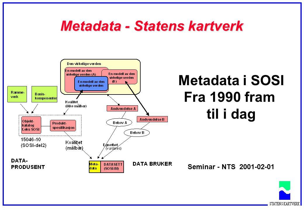 Metadata - Statens kartverk
