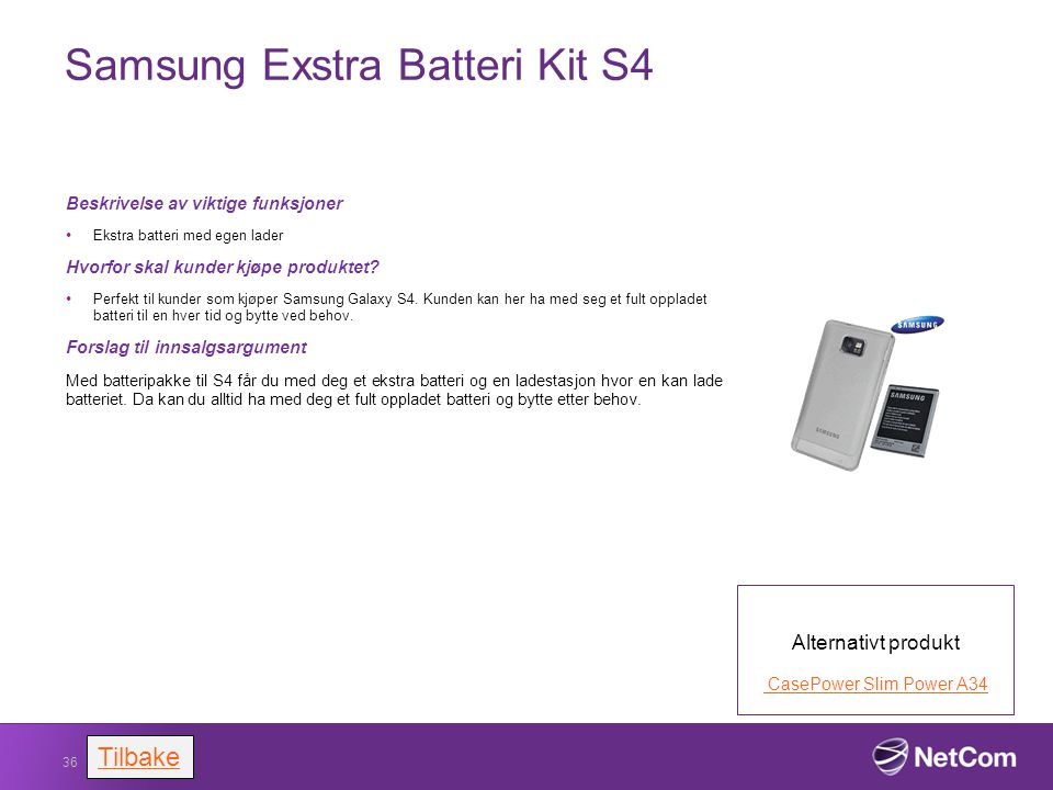 Samsung Exstra Batteri Kit S4