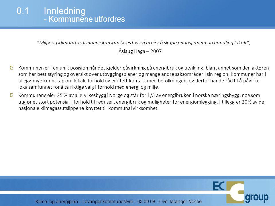 0.1 Innledning - Kommunene utfordres
