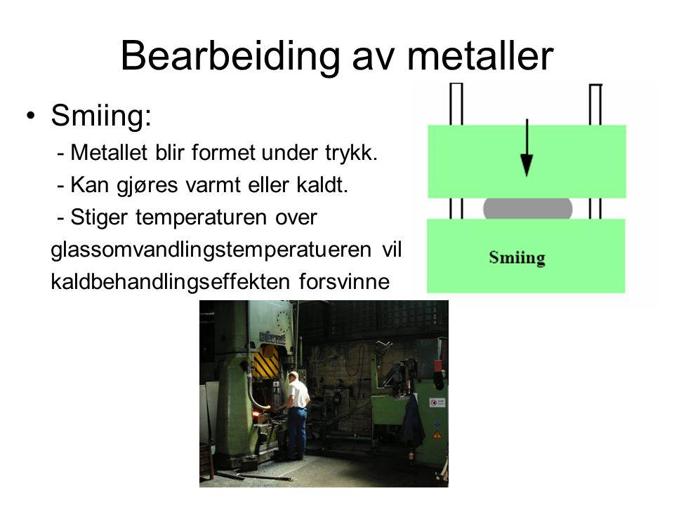 Bearbeiding av metaller