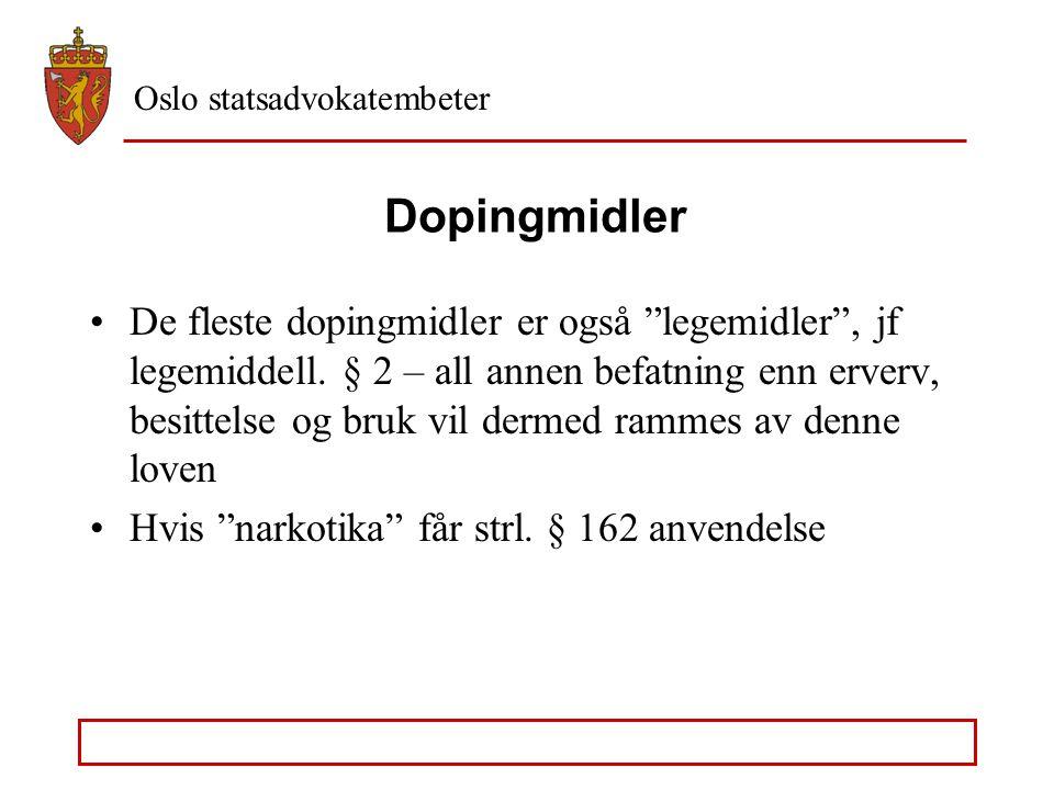 Dopingmidler