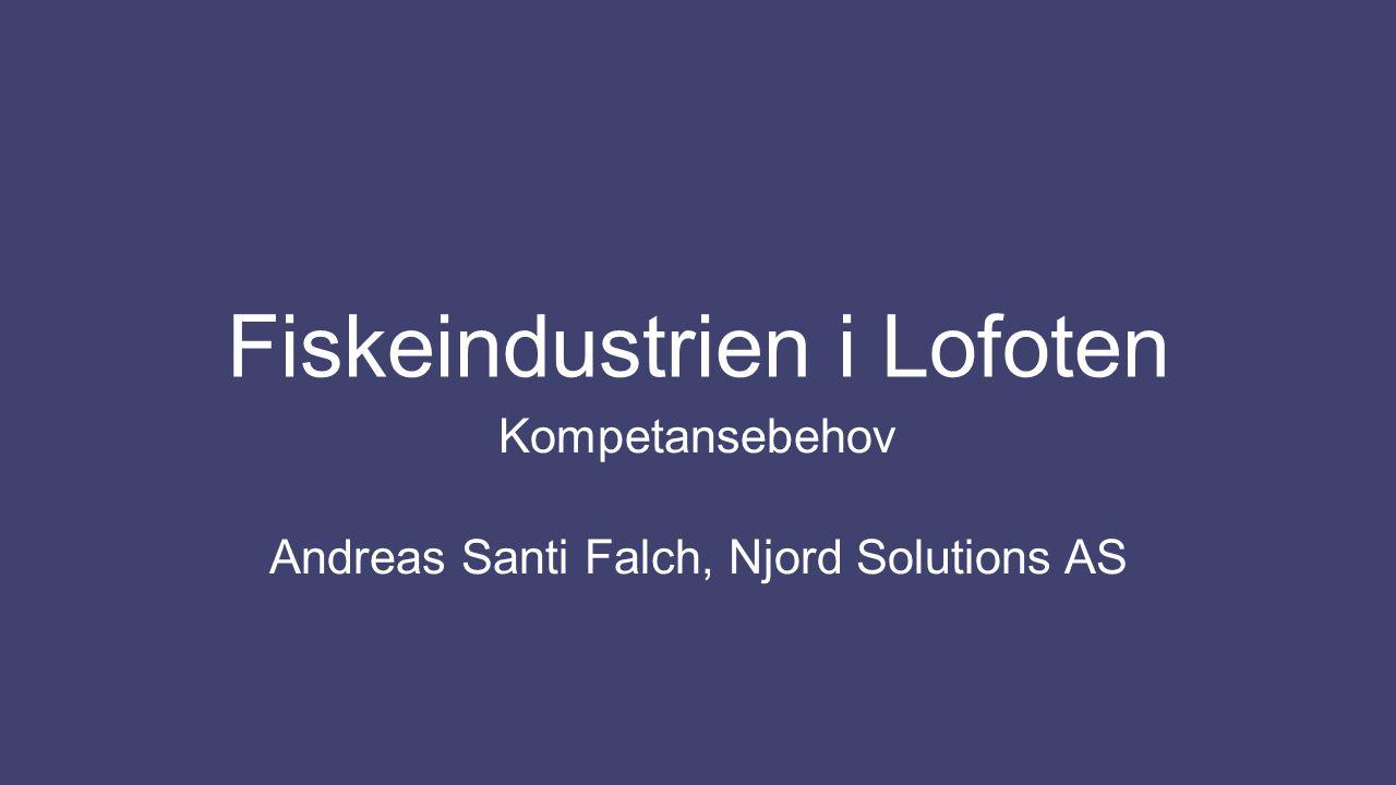 Fiskeindustrien i Lofoten