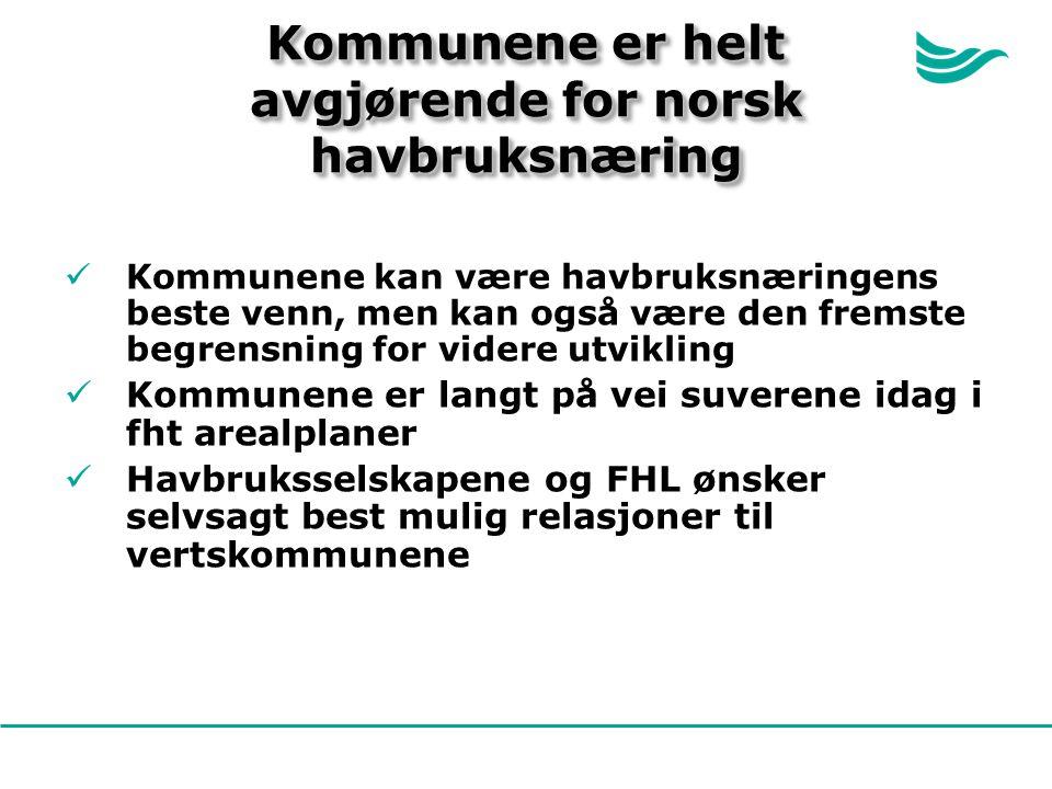 Kommunene er helt avgjørende for norsk havbruksnæring