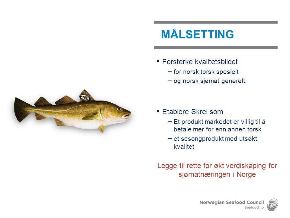 Legge til rette for økt verdiskaping for sjømatnæringen i Norge