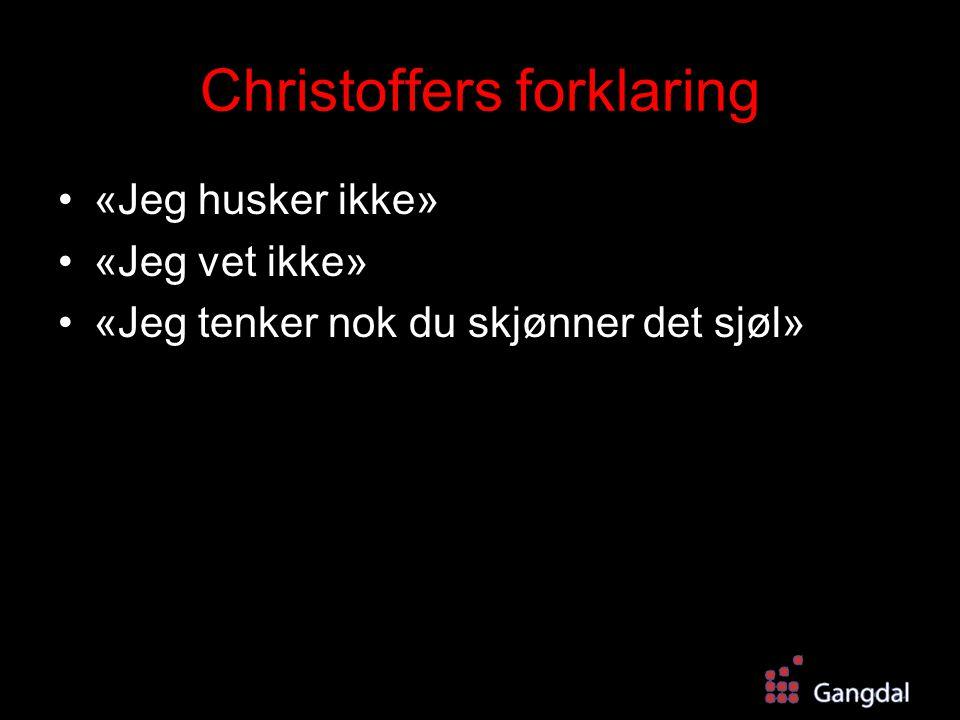Christoffers forklaring