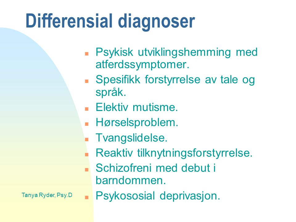 Differensial diagnoser