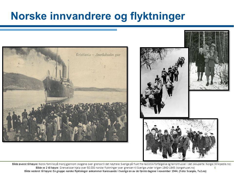 Norske innvandrere og flyktninger