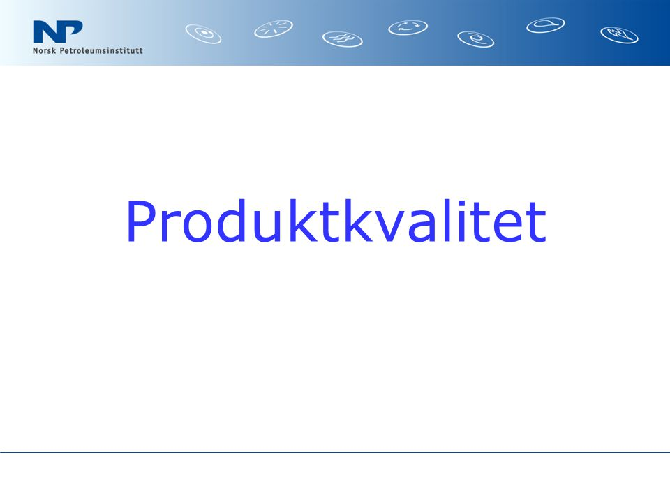Produktkvalitet