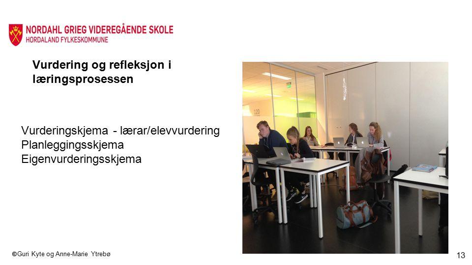 Vurdering og refleksjon i læringsprosessen