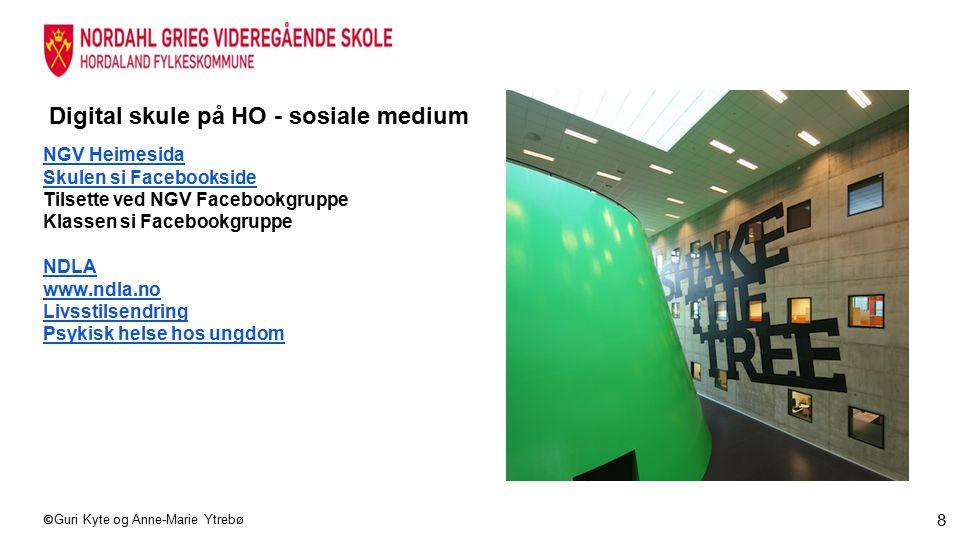 Digital skule på HO - sosiale medium