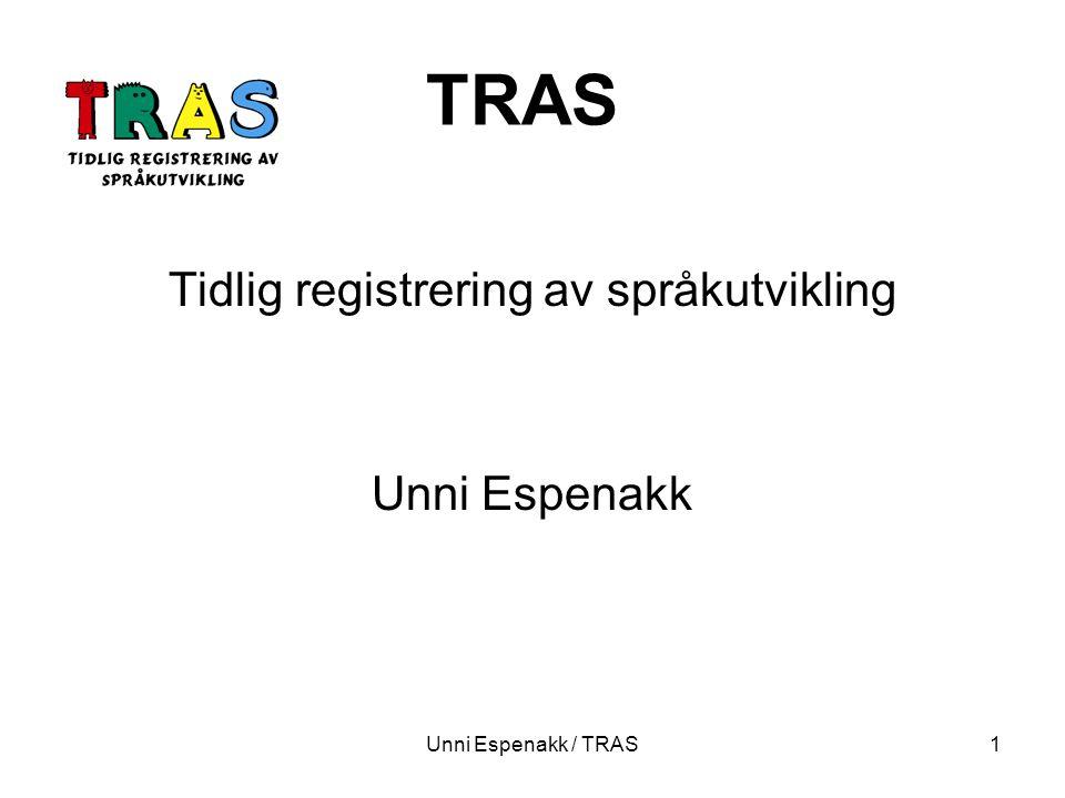 Tidlig registrering av språkutvikling