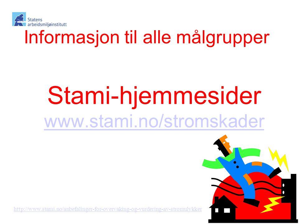 Stami-hjemmesider www.stami.no/stromskader