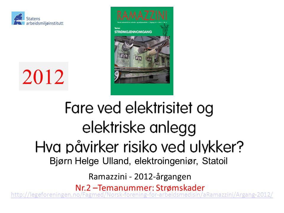 2012 Ramazzini – pdf-filer 2005 – d.d. Hvert nr. er et temanummer!