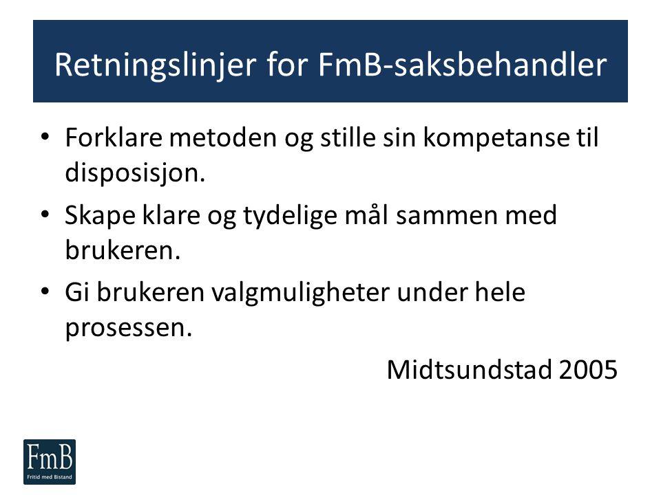 Retningslinjer for FmB-saksbehandler