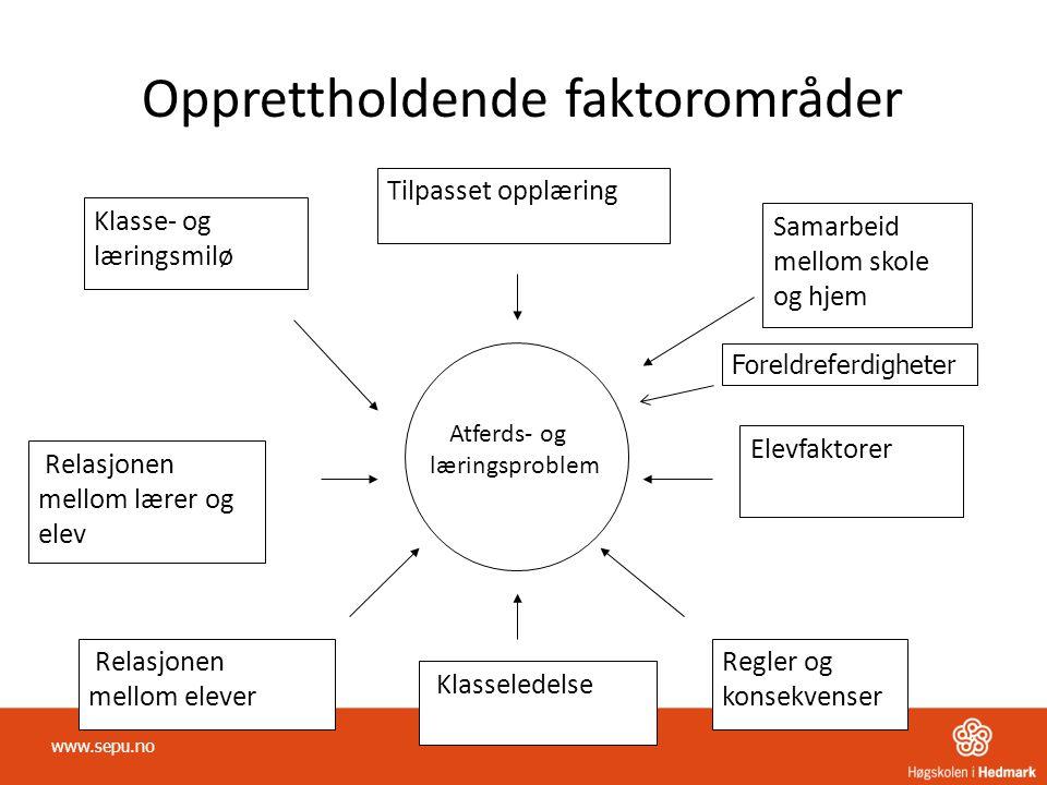 Opprettholdende faktorområder
