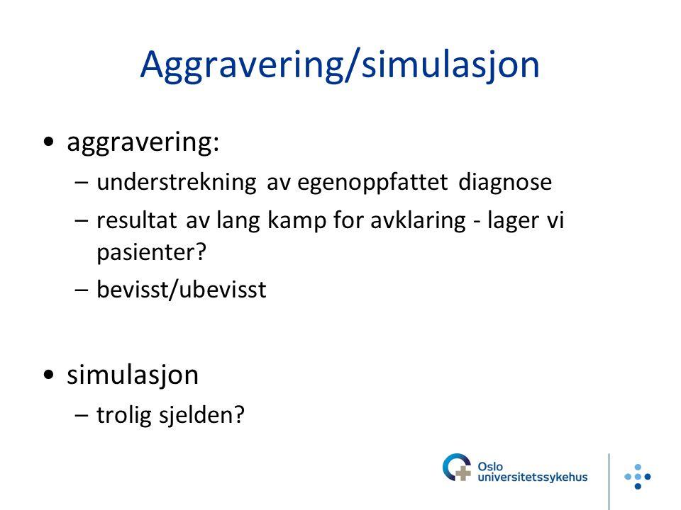 Aggravering/simulasjon