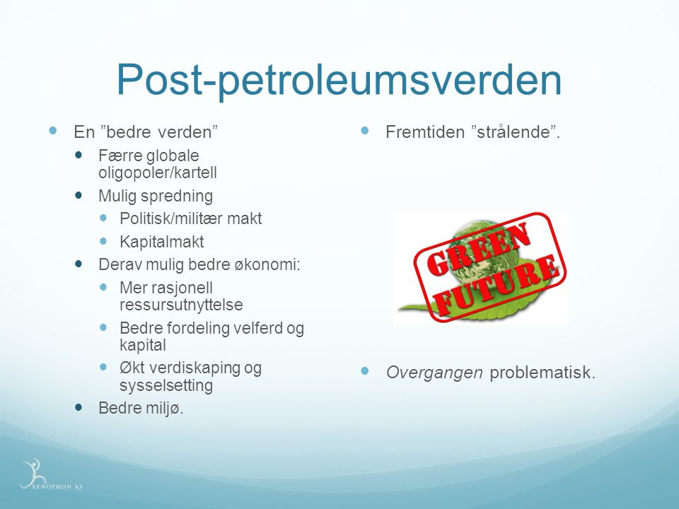Post-petroleumsverden