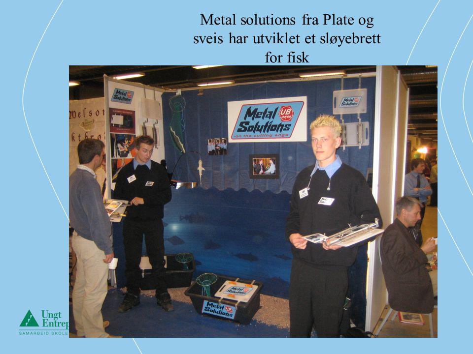 Metal solutions fra Plate og sveis har utviklet et sløyebrett for fisk