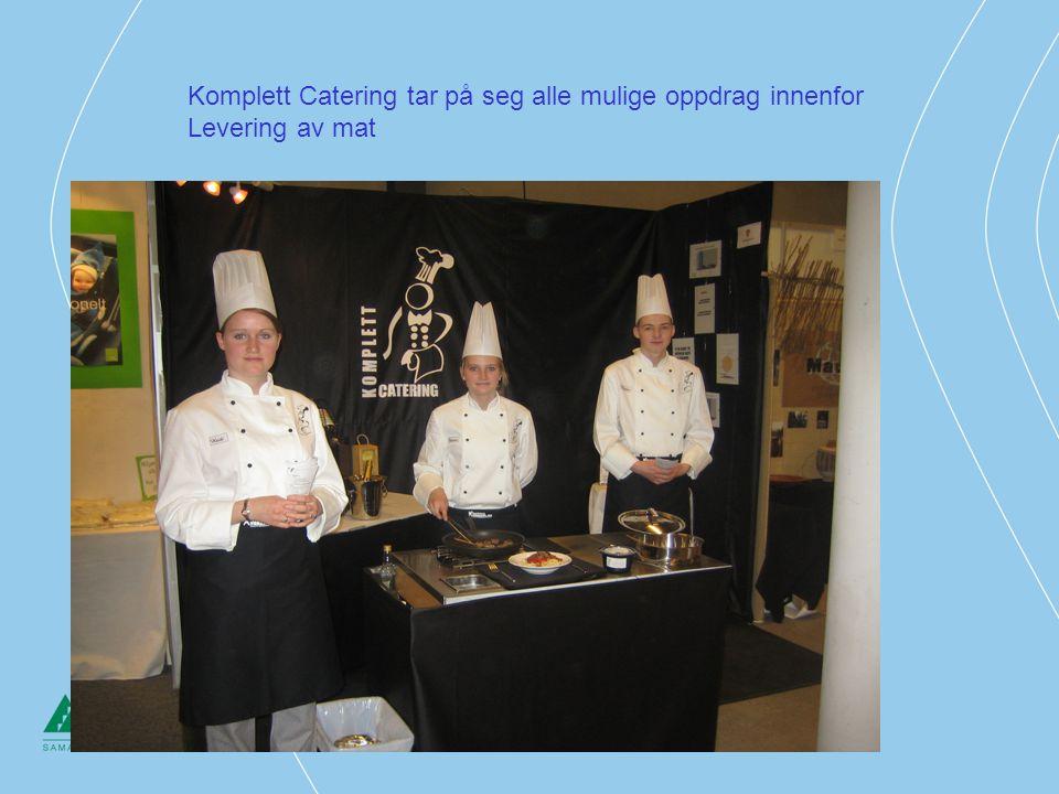 Komplett Catering tar på seg alle mulige oppdrag innenfor