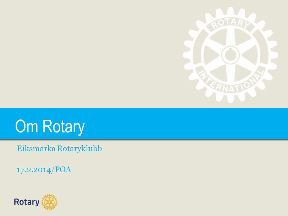 Eiksmarka Rotaryklubb 17.2.2014/POA