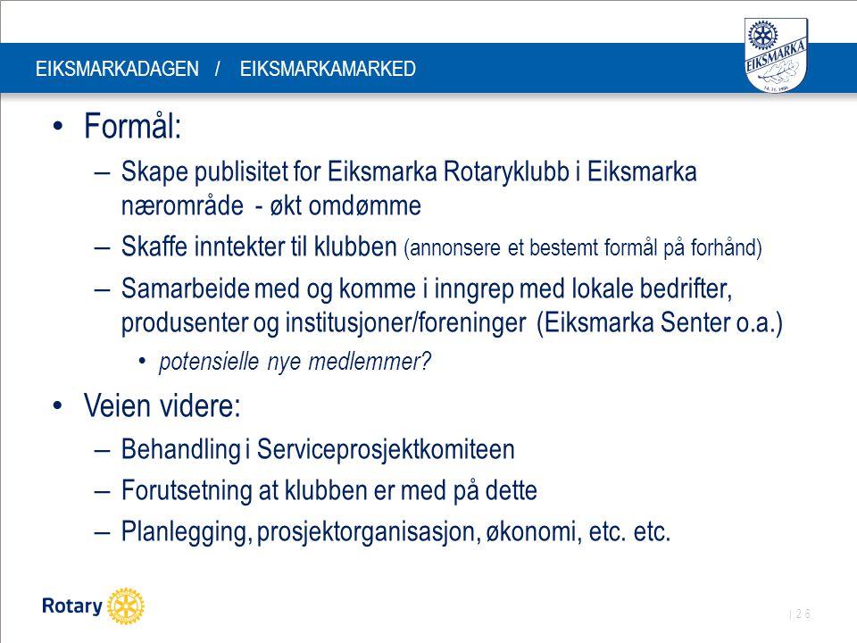 EIKSMARKADAGEN / EIKSMARKAMARKED