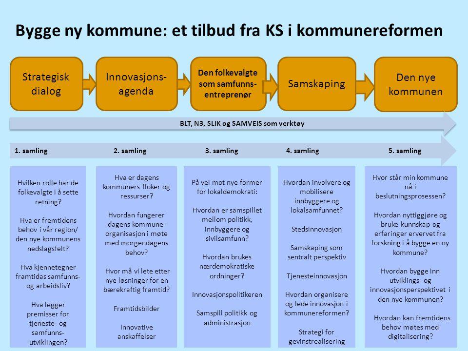 Bygge ny kommune: et tilbud fra KS i kommunereformen