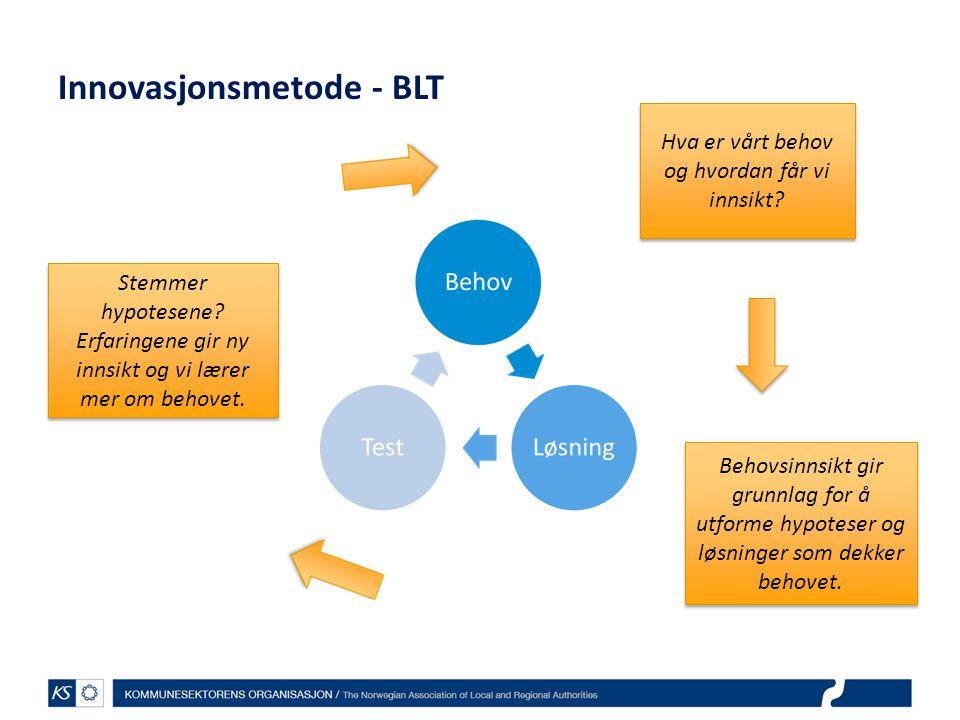 Innovasjonsmetode - BLT