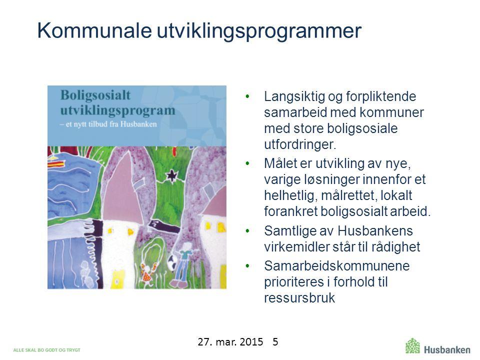 Kommunale utviklingsprogrammer