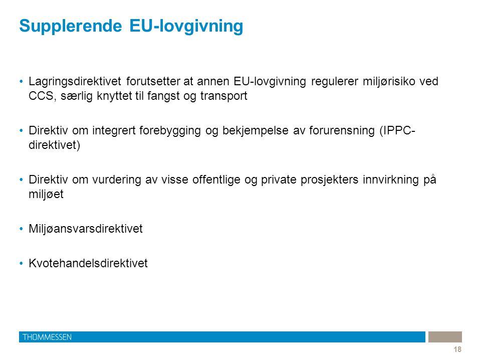 Supplerende EU-lovgivning