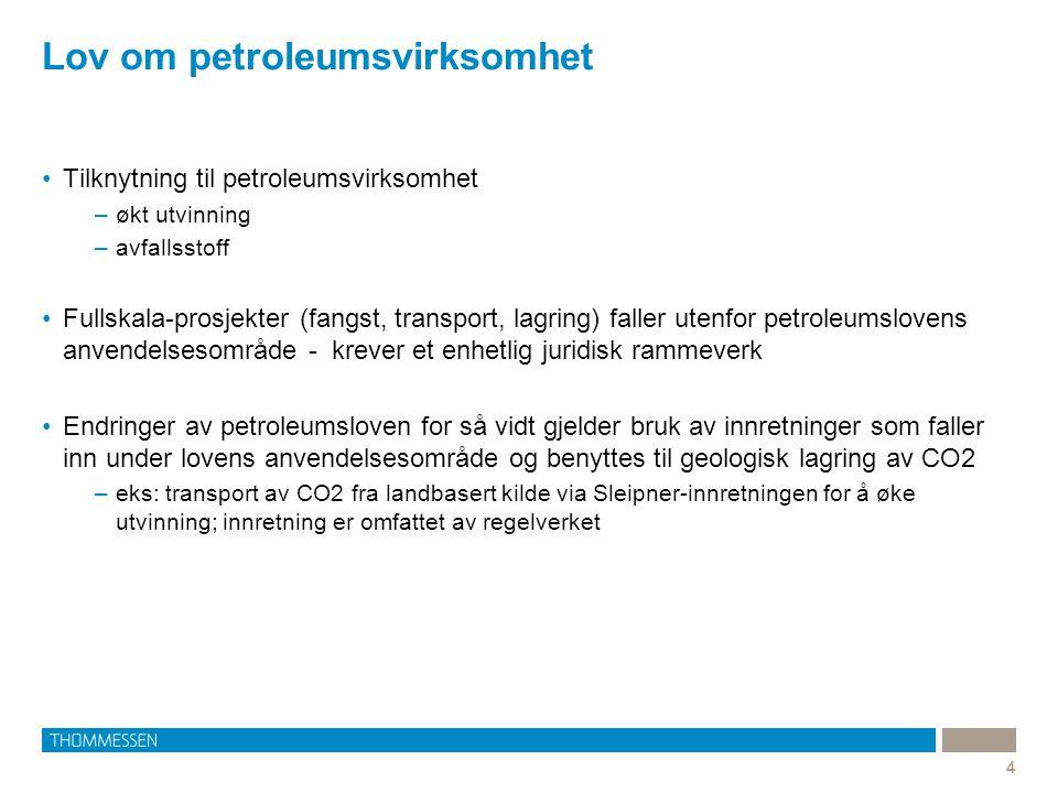 Lov om petroleumsvirksomhet