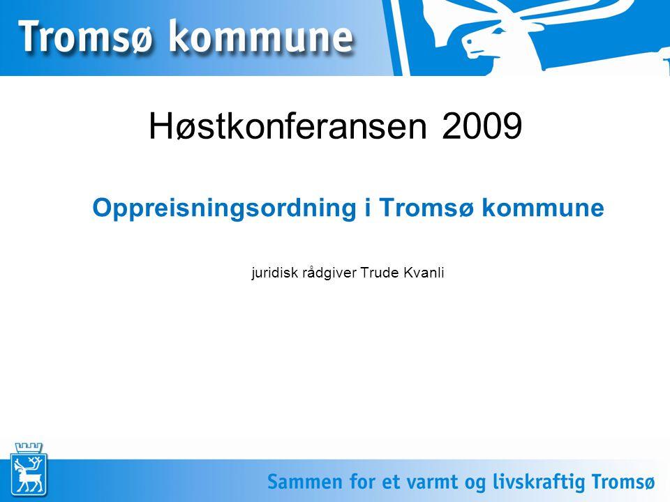 Oppreisningsordning i Tromsø kommune